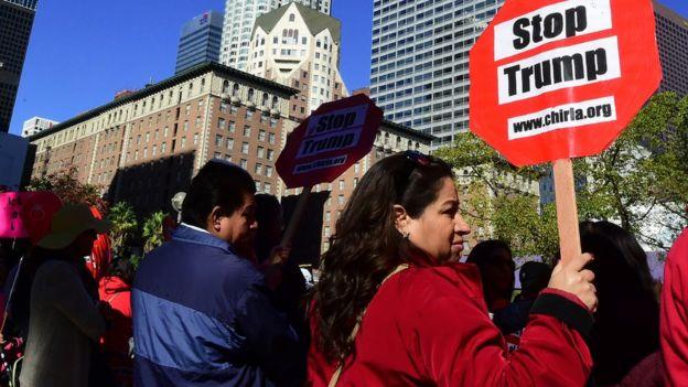 Protesta en Los Ángeles