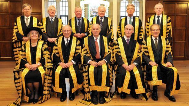 Jueces de la Corte Suprema