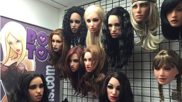 Cabezas de muñecas