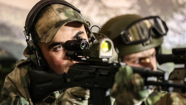 داعش مسئولیت حمله به پایگاه گارد ملی روسیه در چچن را به عهده گرفت