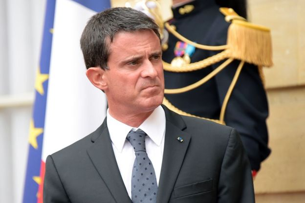 French Prime Minister Manuel Valls in Paris, 5 September