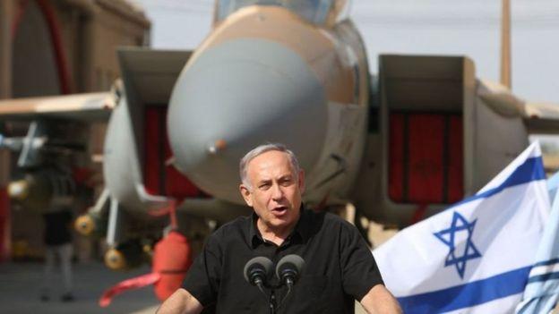 Netanyahu alitembelea ngome ya jeshi la anga ya Israel mwezi Agosti