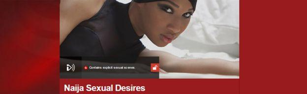 Screen grab from Naija Sexual Desires