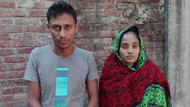 হুমায়ুন কবির ও তাঁর স্ত্রী রোকেয়া বেগম