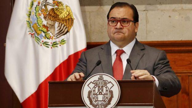 Javier Duarte, exgobernador de Veracruz