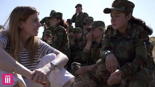 Stacey Dooley e as meninas yazidis