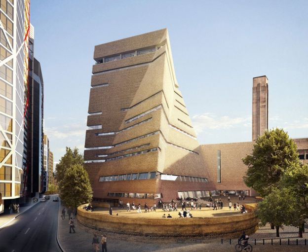 How the new Tate Modern extension will look