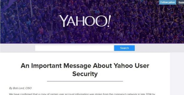 Yahoo 'state' hackers stole data from 500 million users ilicomm Technology Solutions