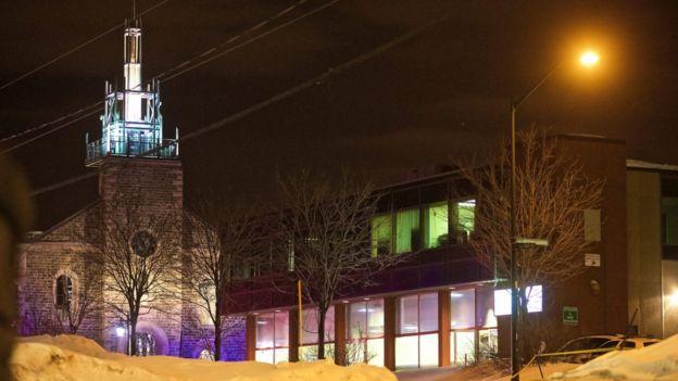 Centro Cultural Islámico de la ciudad de Quebec