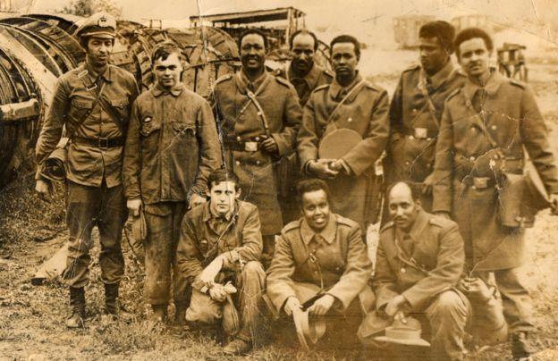 Siid Ahmed Sharif et ses collègues en ex-URSS