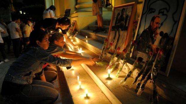 Cuba rindió primer homenaje masivo a Fidel Castro