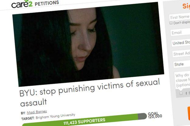 Madi Barney's petition