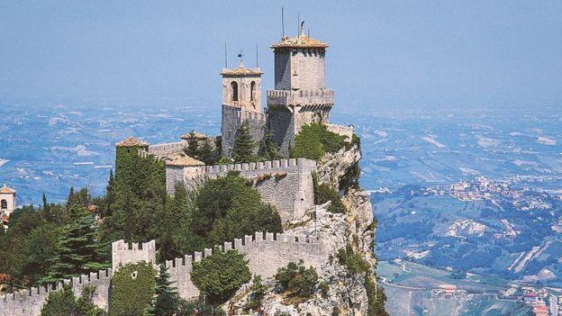 Torre Guaita, em San Marino