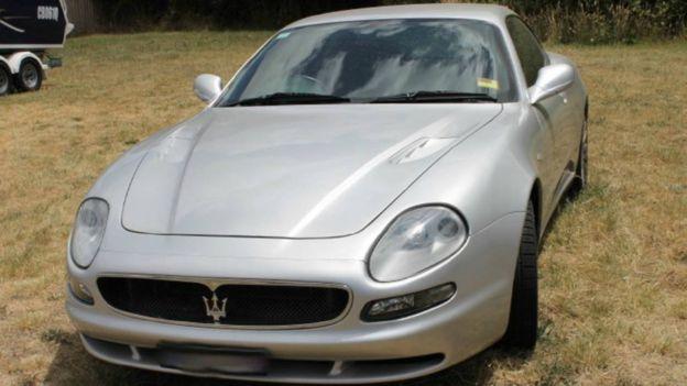 El Maserati de Moore