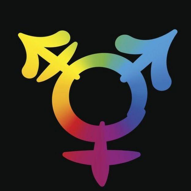 Símbolo de las personas transexuales.