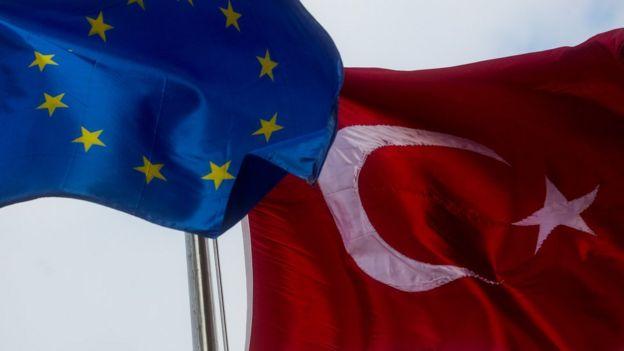 AB-Türkiye bayrağı