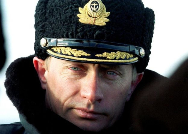 Vladimir Putin en 1999