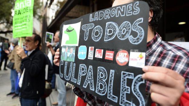 Protesta en 2014