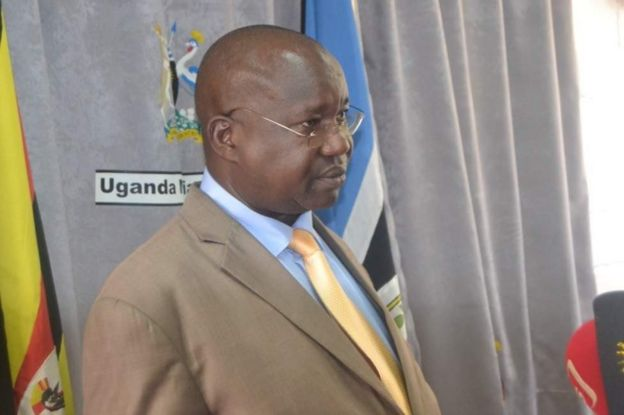 Waziri wa maadili nchini Uganda Simon Lokodo
