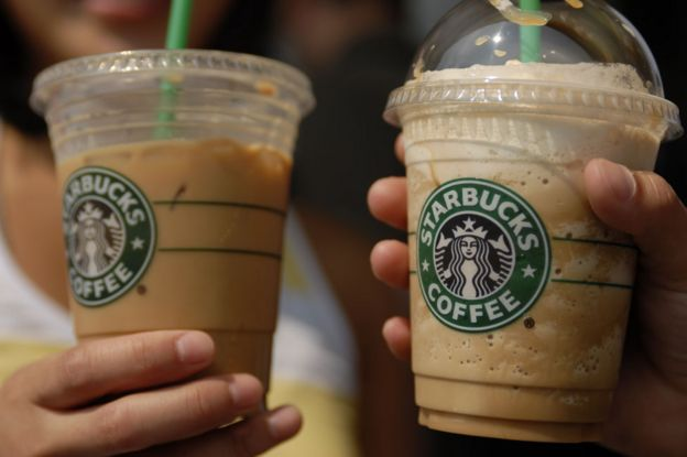 Coffee-based drinks from Starbucks