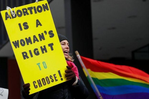 Abortion activists