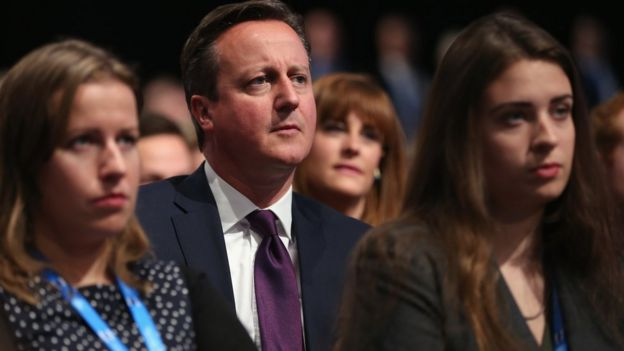David Cameron at party conference, 5 Oct 15