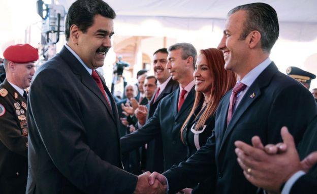 Maduro Saluda a El Aissami