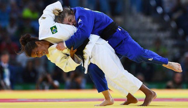 El de Rafaela Silva ha sido un viaje épico, del barrio pobre a la consagración olímpica.