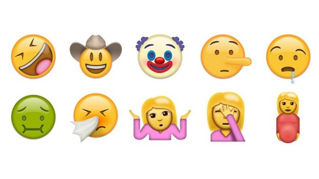 Emojis de rostros y personajes