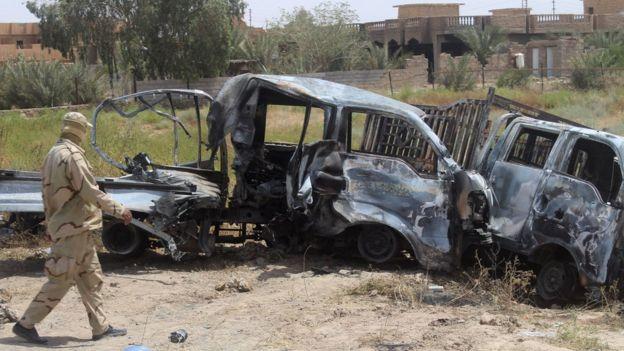 Faluya era una ciudad estratégica para el Estado Islámico porque se encuentra a una hora en auto de Bagdad.