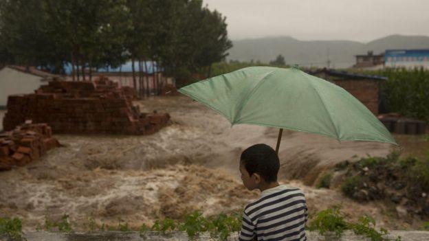 inundaciones en Henan