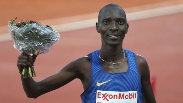 Asbel Kiprop of Kenya