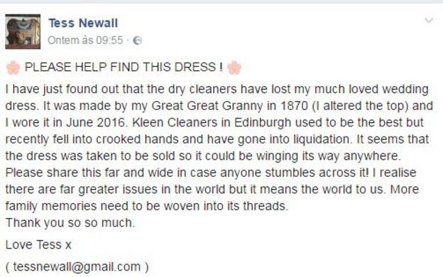 Facebook de Tess