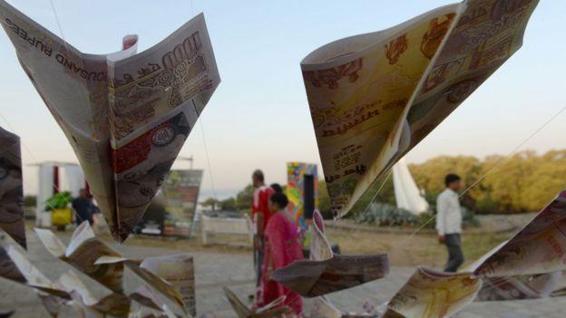 Billetes en India