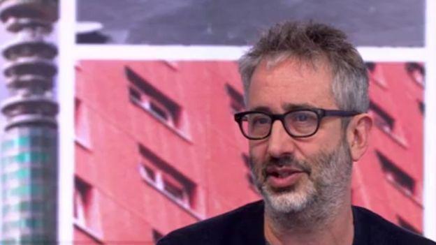 El cómico británico David Baddiel