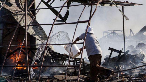 En Tultepec se fabrica el 80% de los fuegos artificiales que de forma legal se venden en todo el país.
