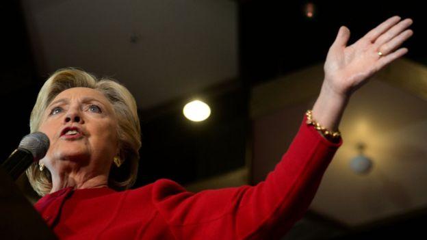 ВСША возникла  реклама слающей Хиллари Клинтон