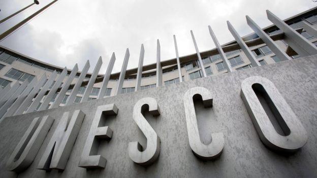 Sede principal de la Unesco en Paris.