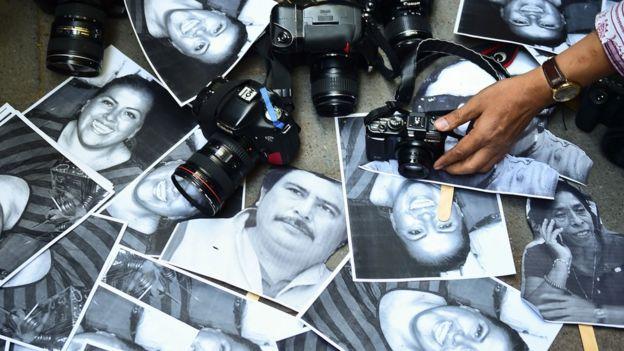 Homenaje a periodistas.