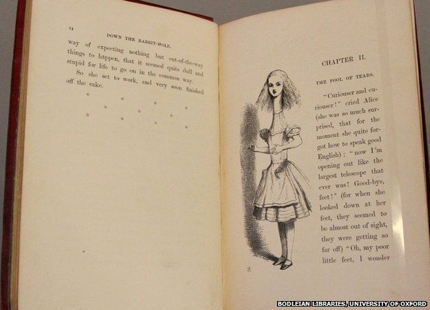 a look at lewis carrolls alice in wonderland book The book begins with carroll's prefatory poem from the book, which recounts   story is the 1973 gem lewis carroll's alice in wonderland illustrated by  of  alice's adventures in wonderland and through the looking glass.