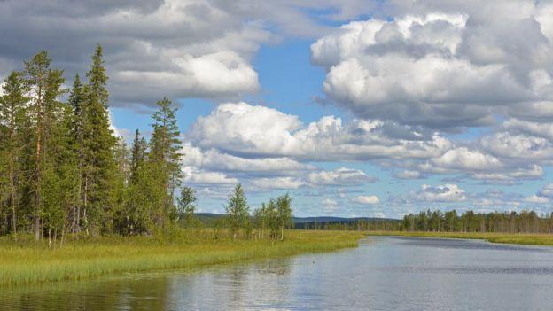 Vào đầu tháng 6, học sinh ở Phần Lan đã được nghỉ hè.