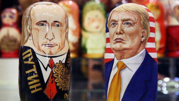 Картинки по запросу главным врагами этого мира объявлены Путин и Трамп.