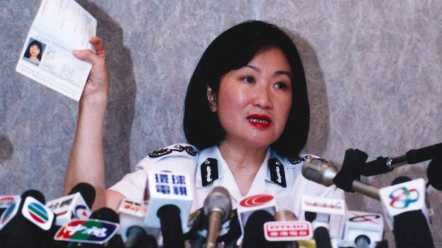 Regina Ip as Director of Immigration in the 1990s
