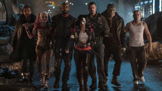 El elenco de Suicide Squad