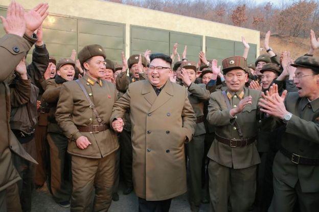 Kim Jong-un 19 de marzo de 2017