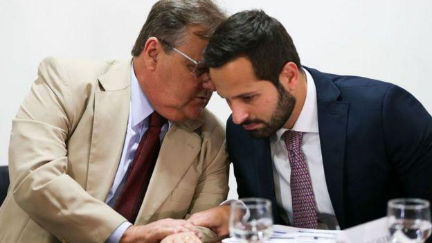 Geddel Vieira Lima e Marcelo Calero