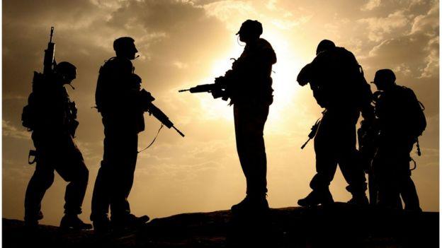британские солдаты НАТО