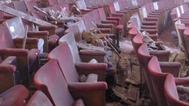 Apollo Theatre roof collapse