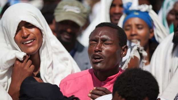 Ethiopia – Protests and shut down