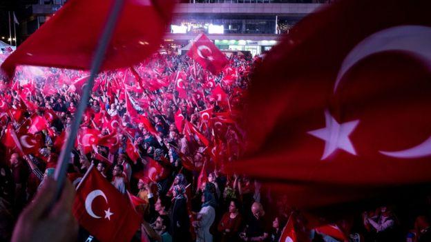 Türkiye'de darbe karşıtı gösteriler